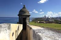 Sentry Post Overlooking San Juan