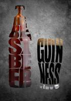 GUINNESS The Best Beer Typography