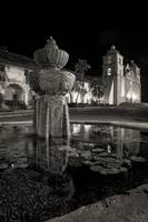 Pious Night At Santa Barbara Mission