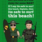 """My apocalypse now lego dialogue poster"" by Chungkong"