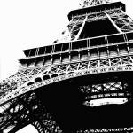 """Eiffel Tower Silhouette"" by Groecar"
