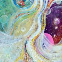 samadhi bliss FA Art Prints & Posters by Ashleigh Bayer