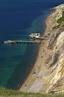 The Beach and Sand Cliffs of Alum Bay (31990-RDA)