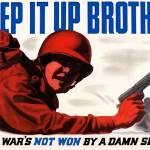 """""""Digitally restored vector war propaganda poster."""" by stocktrekimages"""