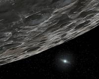 Artists Conception of a Kuiper Belt Object