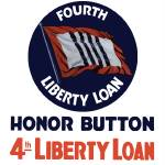 """Vintage World War II poster of a 4th Liberty Loan"" by stocktrekimages"