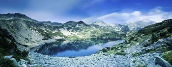 View of Ribno Banderishko Lake in Pirin National P