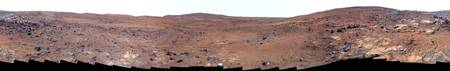 Panoramic view of Mars