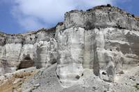 Minoan Eruption Deposits, Mavromatis Pumice quarry