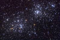 NGC 884 an open cluster in the constellation of Pe