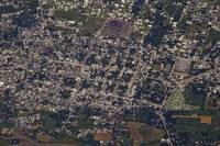 An aerial view of PortauPrince Haiti
