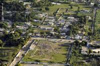 Aerial view of PortauPrince Haiti