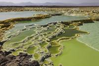 Dallol geothermal area, Danakil Depression, Ethiop