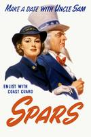 World War II poster of a female Coast Guard Cadet