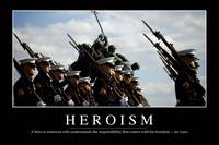 Heroism: Inspirational Quote and Motivational Post