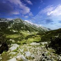 A green valley through Pirin Mountains, Pirin Nati