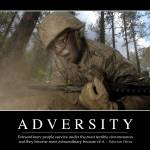 """Adversity: Inspirational Quote and Motivational Po"" by stocktrekimages"
