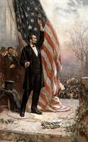 American Civil War painting of President Abraham L