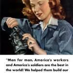 """""""Digitally restored vector war propaganda poster. P"""" by stocktrekimages"""
