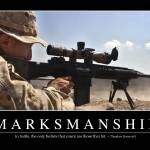 """Marksmanship: Inspirational Quote and Motivational"" by stocktrekimages"