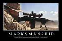 Marksmanship: Inspirational Quote and Motivational