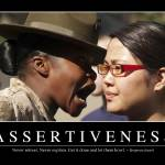 """Assertiveness: Inspirational Quote and Motivationa"" by stocktrekimages"