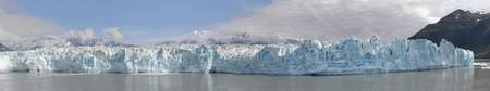 Closeup view of Hubbard Glacier