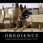 """Obedience: Inspirational Quote and Motivational Po"" by stocktrekimages"