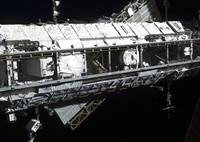 The International Space Stations starboard truss
