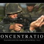 """""""Concentration: Inspirational Quote and Motivationa"""" by stocktrekimages"""