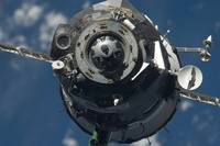 The Soyuz TMA 17 spacecraft