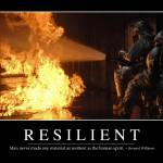 """Resilient: Inspirational Quote and Motivational Po"" by stocktrekimages"