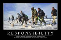 Responsibility: Inspirational Quote and Motivation