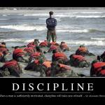 """Discipline: Inspirational Quote and Motivational P"" by stocktrekimages"
