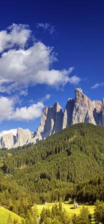 Dolomite Alps and forest, Northern Italy