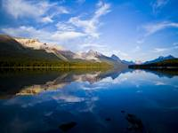 Maligne Lake and Maligne Range in Jasper National