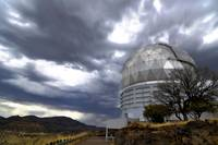 HobbyEberly Telescope observatory dome at McDonald