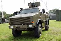 Dingo II vehicle of the Belgian Army