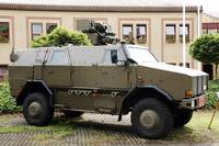 The MultiPurpose Protected Vehicle Dingo II used b