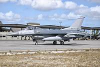 A U.S. Air Force F-16C Fighting Falcon at Natal Ai