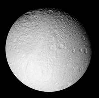 The South Pole of Saturns moon Tethys