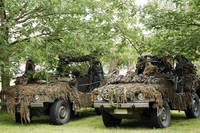VW Iltis Jeeps used by scout or recce teams from t