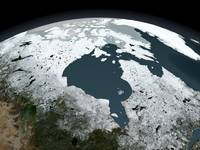 Hudson Bay sea ice on November 14, 2005