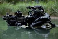 Special Forces combat diver takes a look at his co