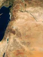 The lands of Israel along the eastern shore of the