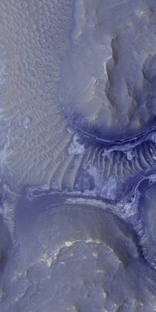 Noctis Labyrinthus formation on Mars