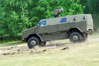 The Dingo 2 in use by the Belgian Army