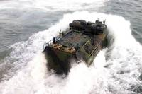 An amphibious assault vehicle
