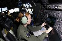 Navigator at work in a MC-130P Combat Shadow