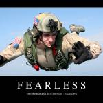 """Fearless: Inspirational Quote and Motivational Pos"" by stocktrekimages"
